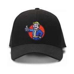 casquette FALLOUT logo brodée de couleur noire