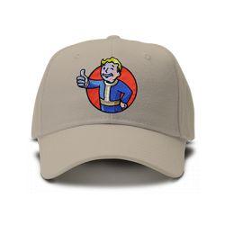 casquette FALLOUT logo brodée de couleur beige
