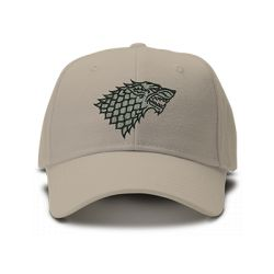 casquette GAME OF throne CLASSIC brodée de couleur beige