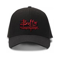 casquette BUFFY CONTRE VAMPIRES brodée de couleur noire