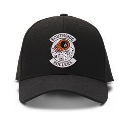 casquette SOUTHSIDE ROLLERS brodée de couleur noire