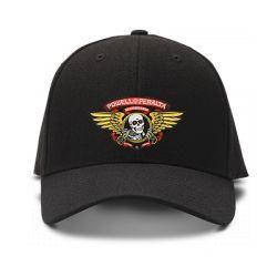 casquette POWELL PERALTA brodée de couleur noire