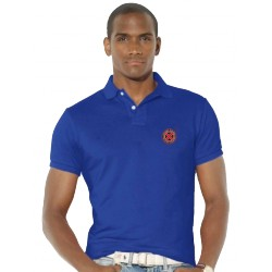 Polo x-men xavier school bleu royal