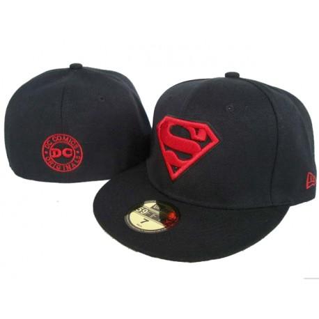 casquette superman dc comics noire