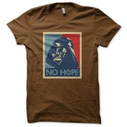 shirt dark vador no hope marron pour homme et femme