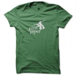 Shirt pied piper silicon valley pour homme et femme en vert