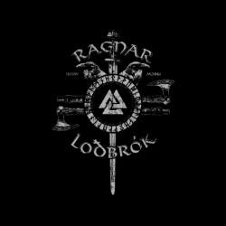 Shirt viking Ragnar Lodbrok noir modèle pour homme et femme
