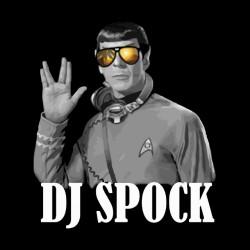 Shirt spock is my dj noir pour homme et femme