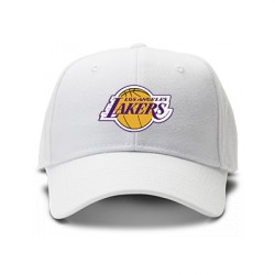 casquette los angeles lakers blanche