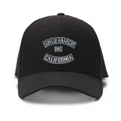 casquette sons of anarchy noire
