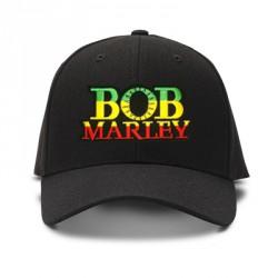 casquette bob marley noire