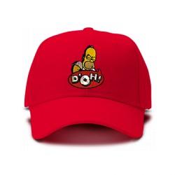 casquette Simpsons doh rouge