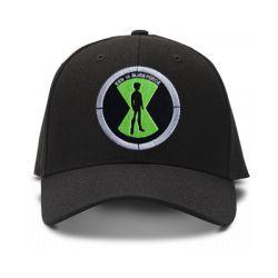 casquette MGC-Ben 10 noir brod'e de couleur noire