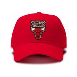 casquette chicago bulls brod'e de couleur rouge
