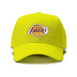 casquette lakers los angeles de couleur jaune