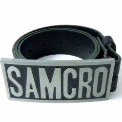 Ceinture samcro sons of anarchy noire