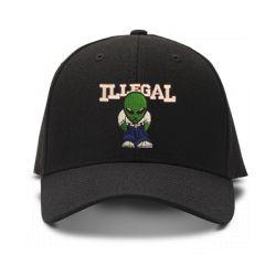 casquette illegal ufo brod'e de couleur noire