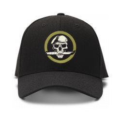 casquette operations speciales brod'e de couleur noire
