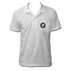 Polo BMW couleur blanc