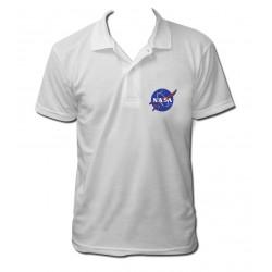 Polo NASA blanc