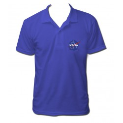 Polo NASA bleu royal