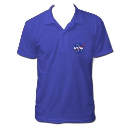 Polo NASA bleu royal