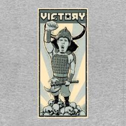 Shirt viking quest johnny drama gris pour homme et femme