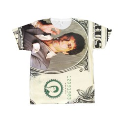 T-Shirt Scarface dollar Tony Montana recto verso