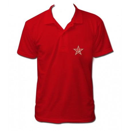 Polo CCCP COMMUNISTE rouge