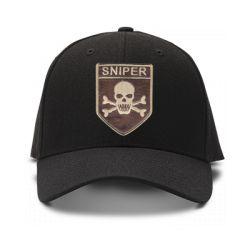 casquette sniper team de couleur noire