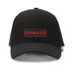 casquette spengler ghostbuster brodee de couleur noire