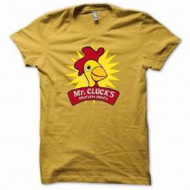 Shirt Lost M. Cotcot snake food Hurley jaune pour homme et femme