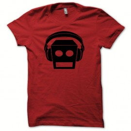 Shirt LMFAO robot Party Rock Anthem every day i m shufflin rouge/noir pour homme et femme