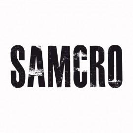 Shirt Sons Of Anarchy version SAMCRO noir/blanc pour homme et femme
