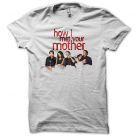 Shirt How i met your mother lit blanc pour homme et femme