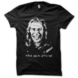 Shirt Twin Peaks Fire walk with me Bob noir pour homme et femme