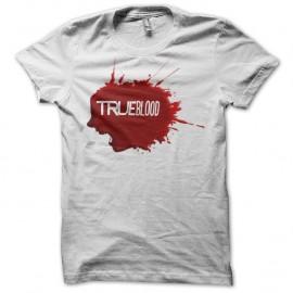 Shirt True Blood tâche de sang blanc pour homme et femme