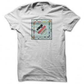 Shirt The Wire monopoly blanc pour homme et femme