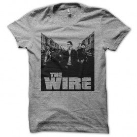 Shirt The Wire street gris pour homme et femme