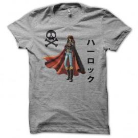 Shirt Albator version rare gris pour homme et femme