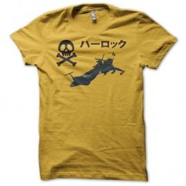 Shirt Albator Arcadia Version jaune pour homme et femme