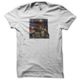 Shirt Judge Dredd blanc pour homme et femme