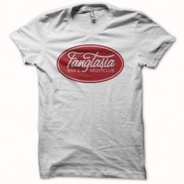 Shirt True Blood logo fangtasia blanc pour homme et femme