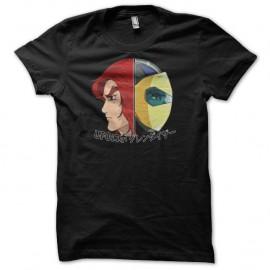 Shirt Actarus fan art Goldorak noir pour homme et femme