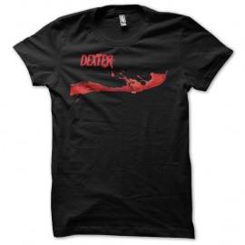 Shirt Dexter blood logo noir pour homme et femme
