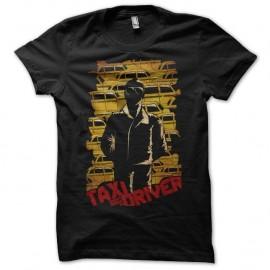 Shirt Taxi Driver yellow cabs noir pour homme et femme