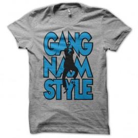 Shirt Gangnam Style Typographie Graffiti gris pour homme et femme