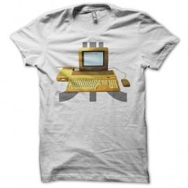 Shirt vintage Atari STF blanc pour homme et femme