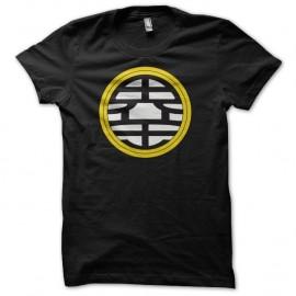 Shirt manga Symbol North Kaio King Kai's kanji noir pour homme et femme