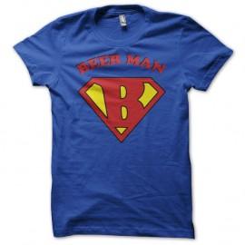 Shirt Beer Man détournement Superman bleu pour homme et femme